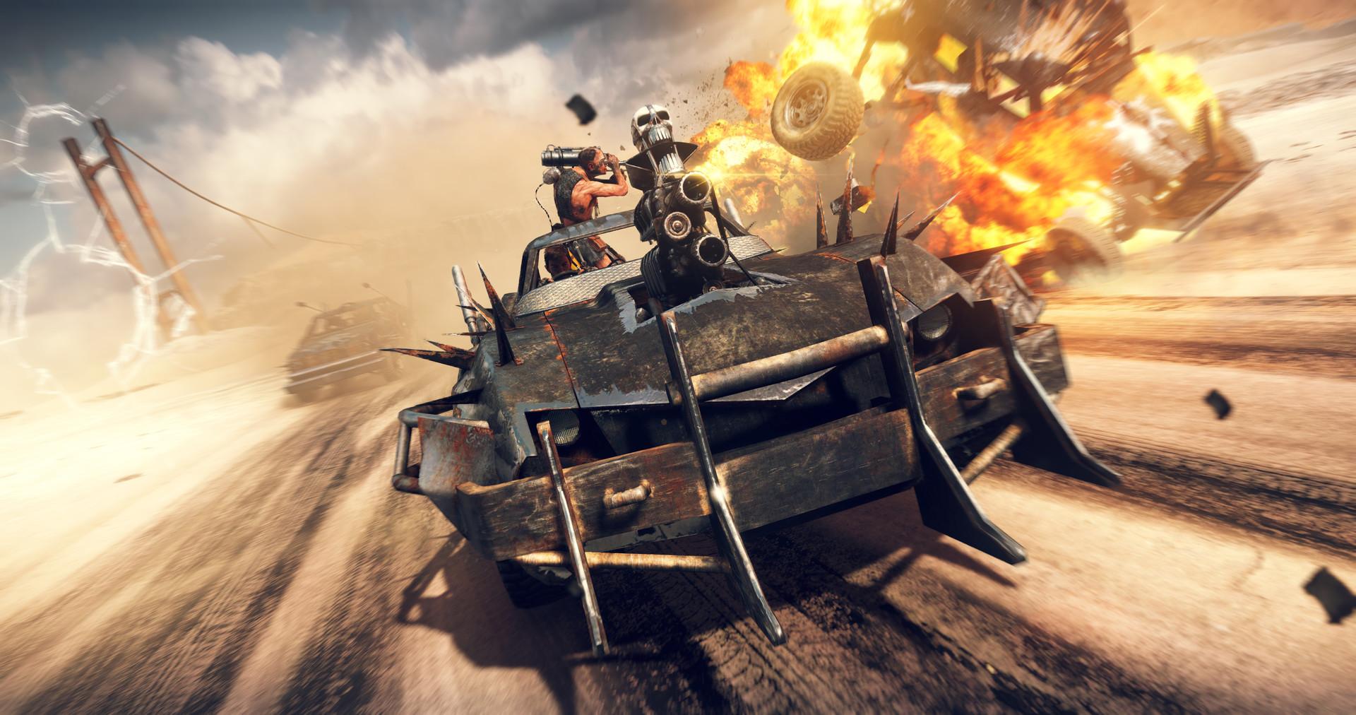 Обзор игры Mad Max - постапокалипсис которого мы достойны
